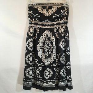 *WHBM* Strapless Silk Dress - Sz 6
